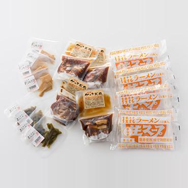 熊本桂花ラーメン 贅沢太肉麺(4食入り) の商品画像