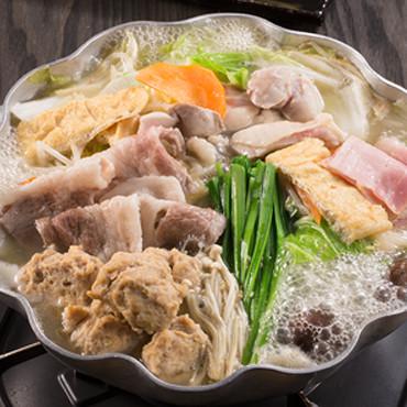 玉海力の特製ちゃんこ鍋セット(塩味)