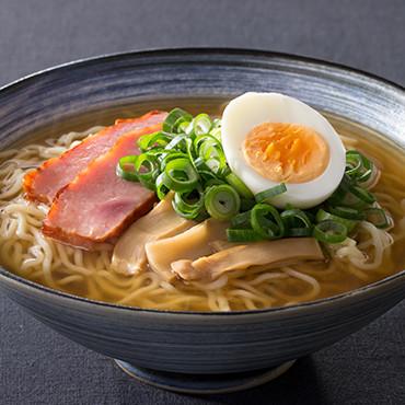 鮭ぶし生らーめん(醤油味)