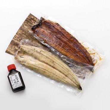 「豊橋うなぎ」の白焼き・蒲焼きセット の商品画像