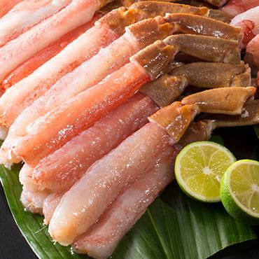 生ずわい蟹むき身(1kg) の商品画像