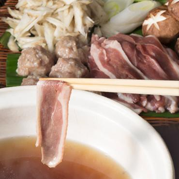 鴨しゃぶ鍋セット(野菜付)